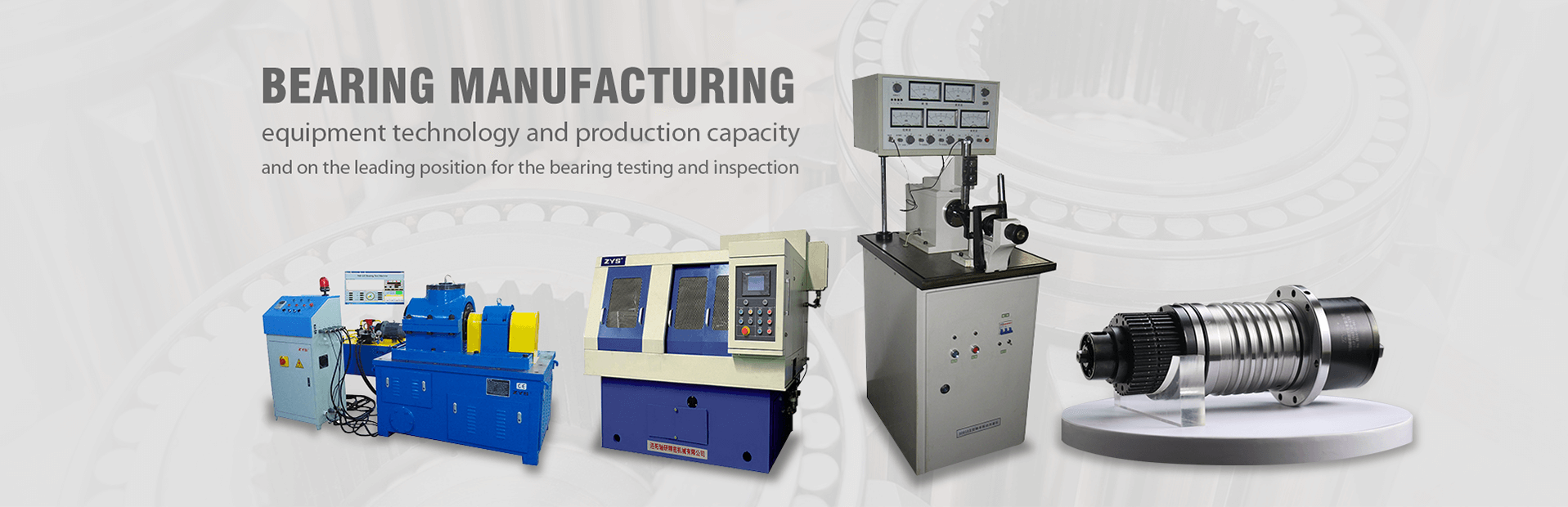 Every day, more than 100,000 ZYS spindle are running in the world.