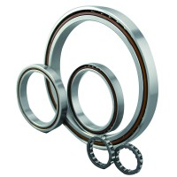 Four point contact ball bearing